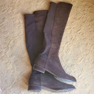 Stuart Weitzman OTK Boots 8.5 Brown